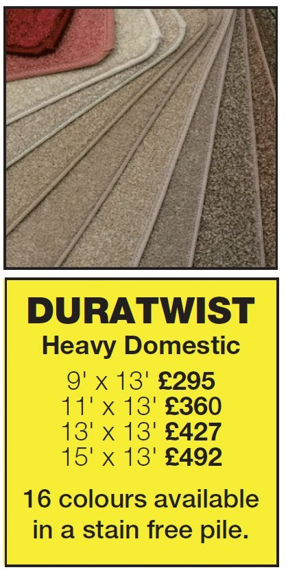 One of our special offers - Duratwist