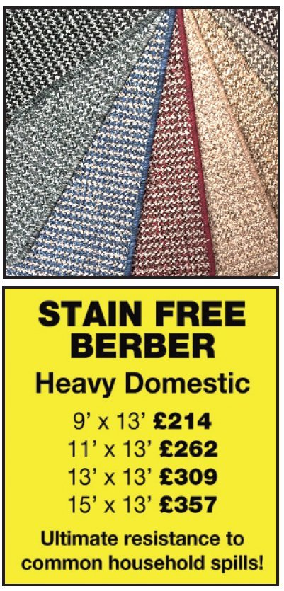 stain free berber