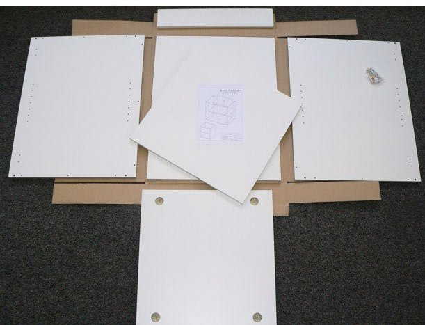 Pieces of kitchen flat packs in Bayswater