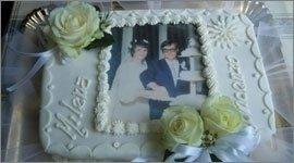 torta con fotografia