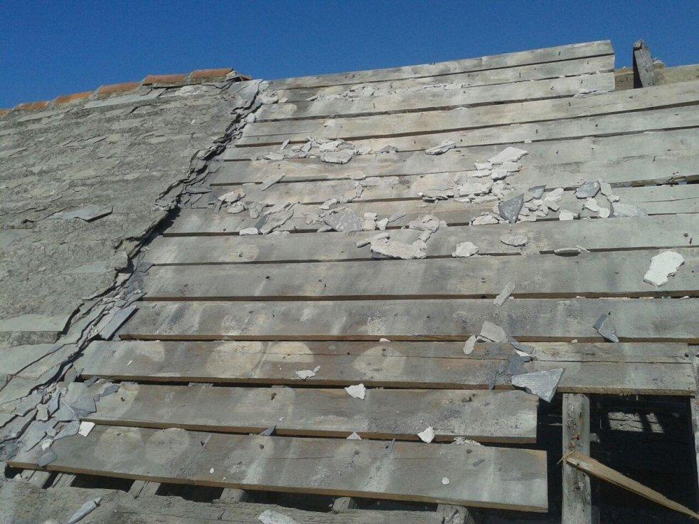 realizzato tetto