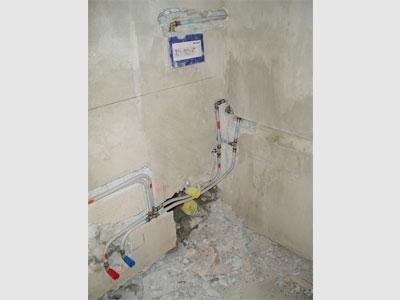 posa impianto idraulico