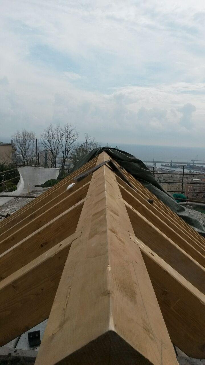 legno per coperture