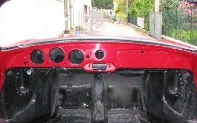restauro interni auto epoca