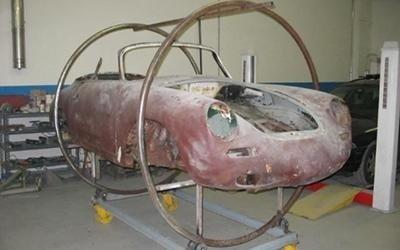 Porsche da restaurare
