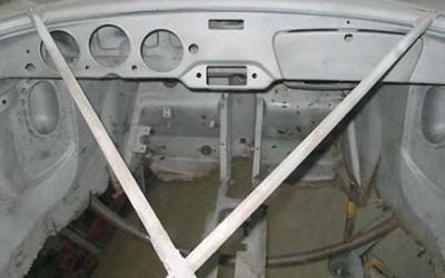 riparazione e restauto interno scocca