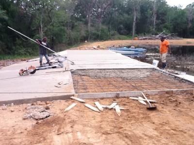 concrete patios Madisonville, TX