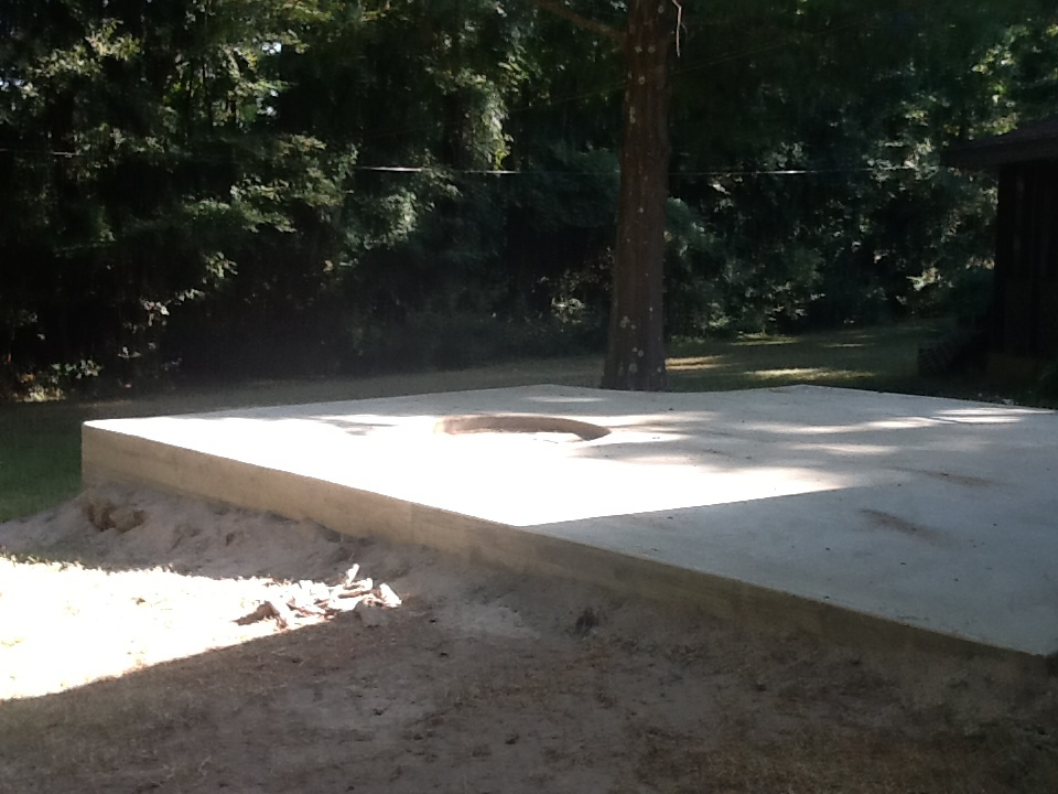 concrete patios Huntsville, TX