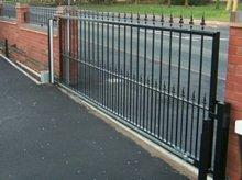 road metal fencing