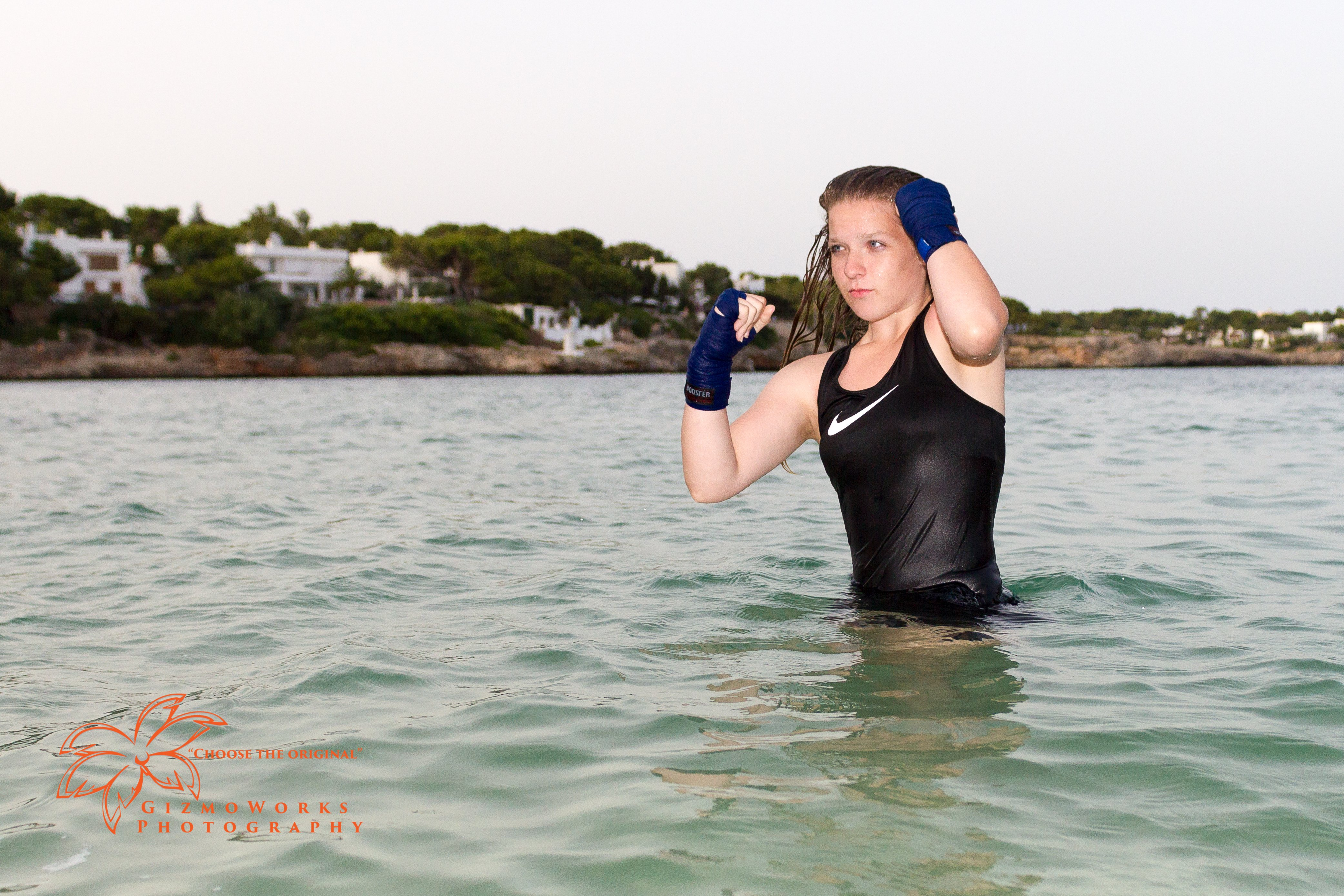 Location Shoot Kickboxer Alicia Thijssen Cala d'Or Mallorca