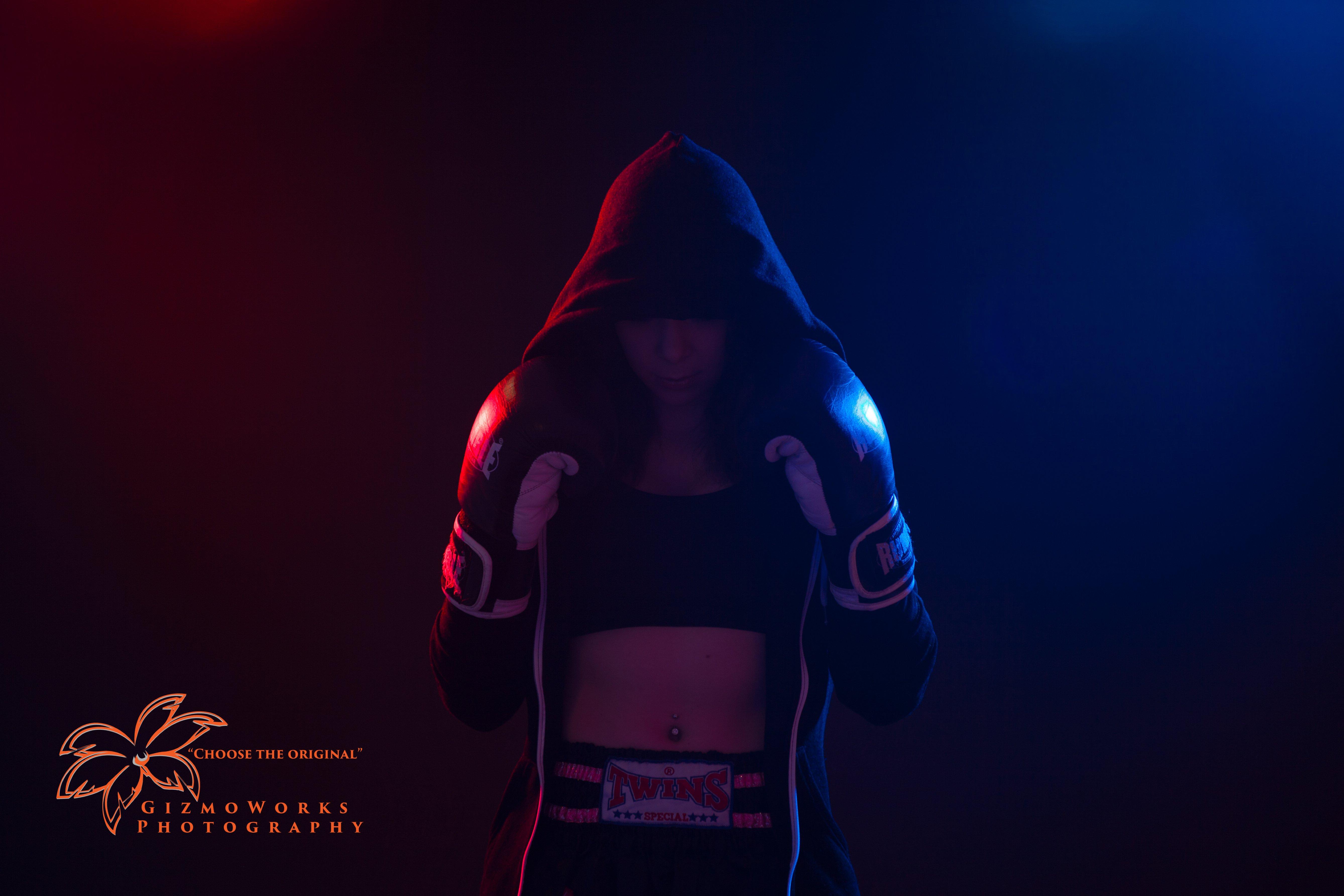 Studio Shoot Kickboxer Caithlin Schouten