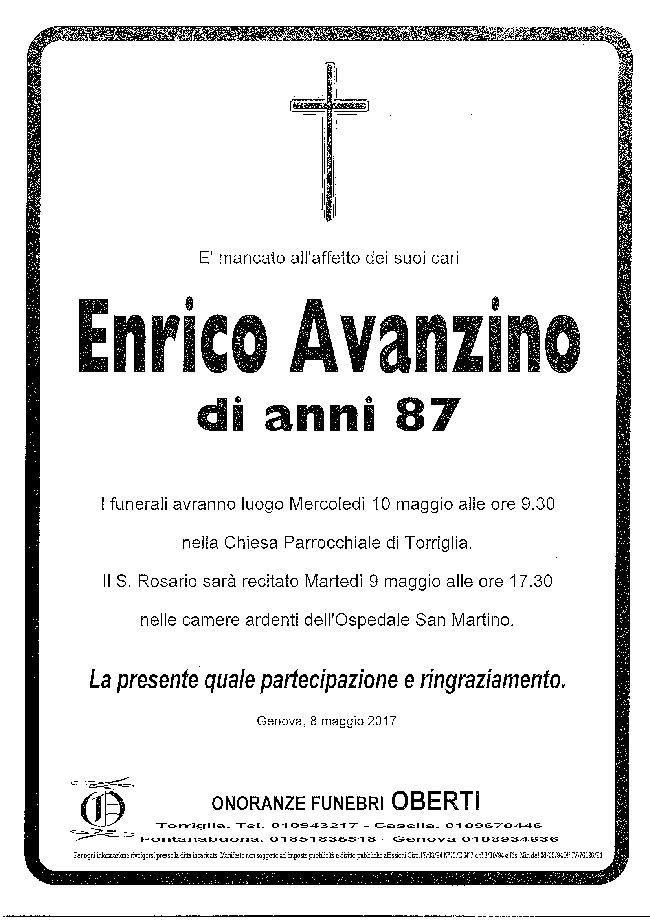 Enrico Avanzino