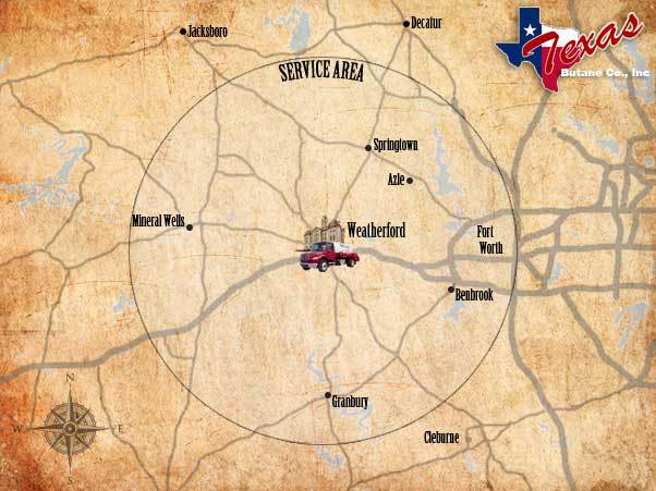 Propane Delivery in Aledo, TX - Texas Butane Co. Inc.