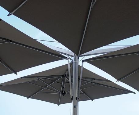 ombrellone quadruplo