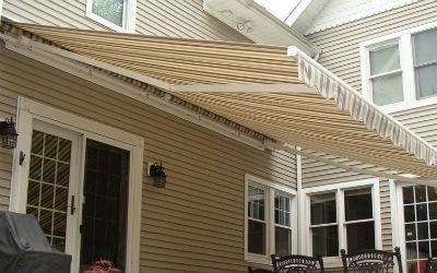 tende a bracci veranda