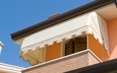 tende a cappottina balcone