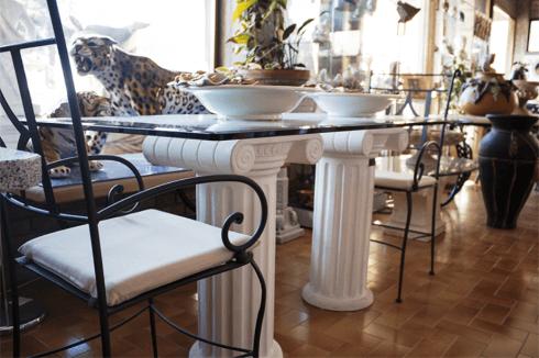 tavolo cristallo sedie