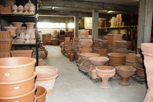 assortimento vasi terracotta
