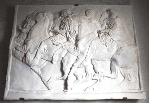 bassorilievo cavalli