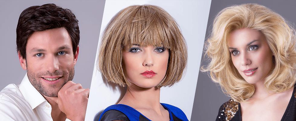 parrucche uomo e donna