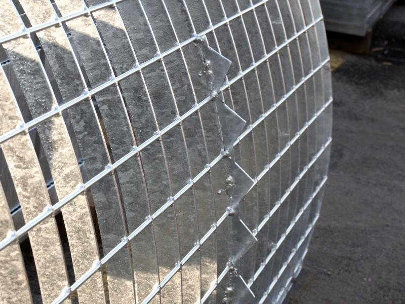 Pannelli grigliato elettrosaldato intestato