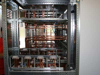 Installazione elettrica industriale