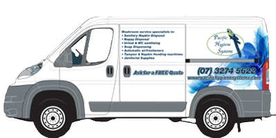pacific hygiene systems service van