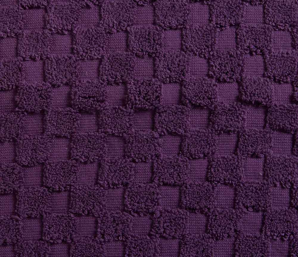 Aubergine purple Bath Mat
