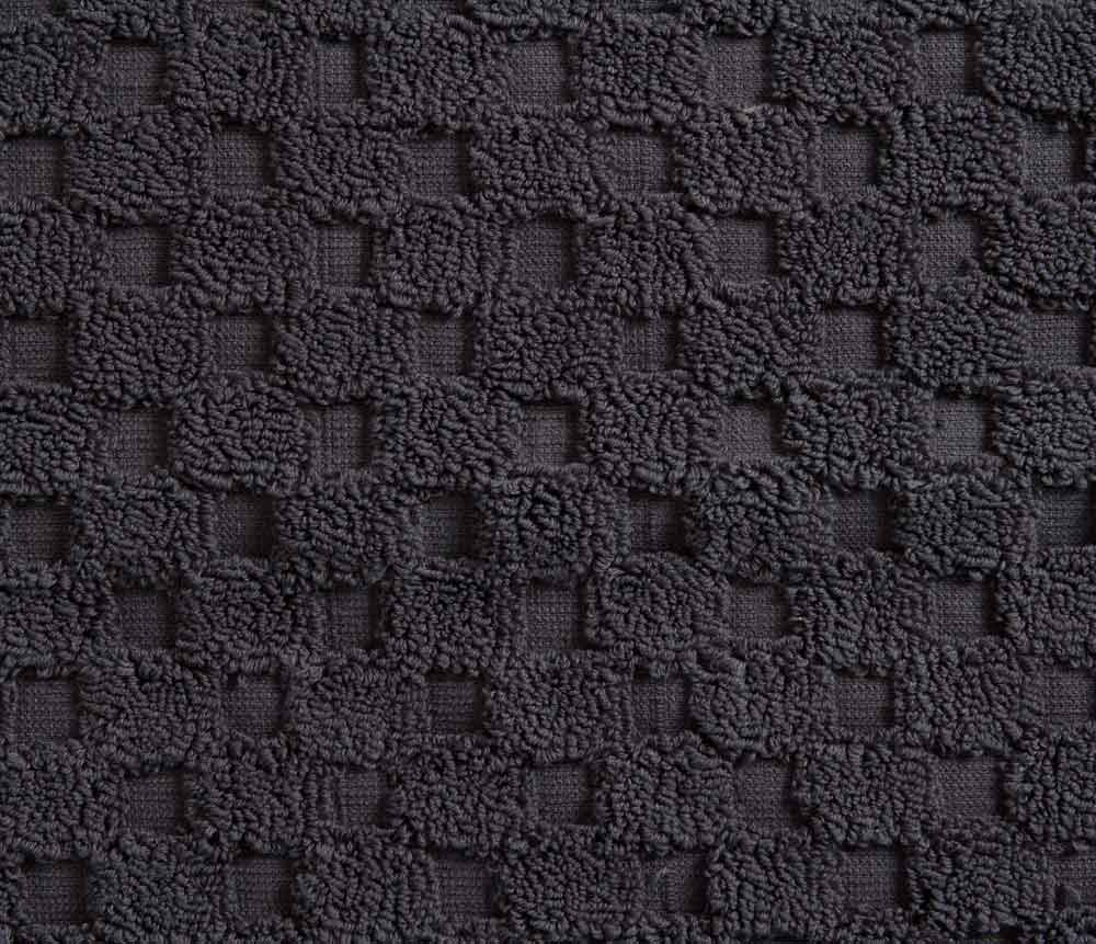 Charcoal dark grey Bath Mat