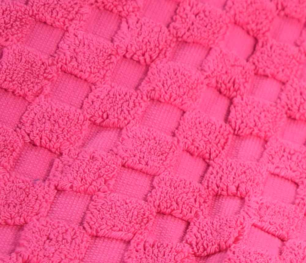 Hot Pink cerise Bath Mat