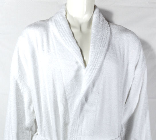 White 400gsm Bathrobe