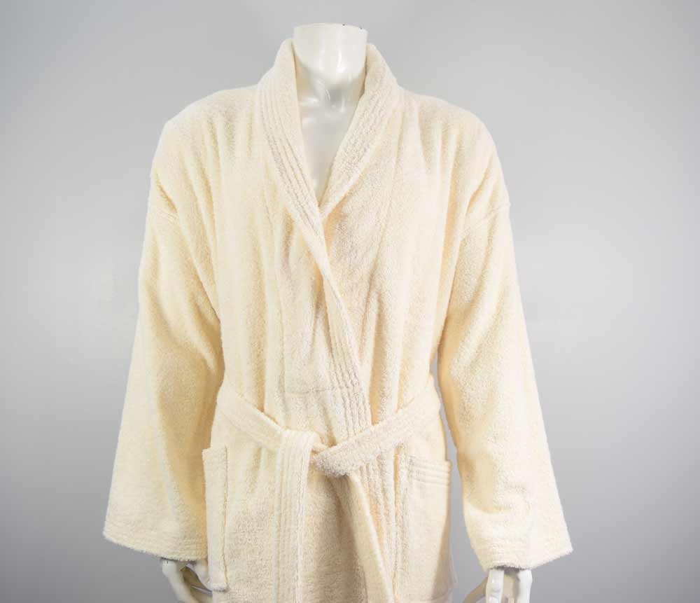 Vanilla cream 500gsm Bathrobe