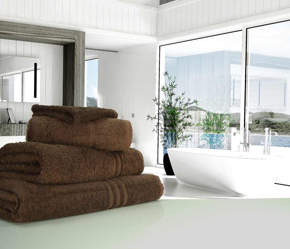 Chocolate Brown Towels
