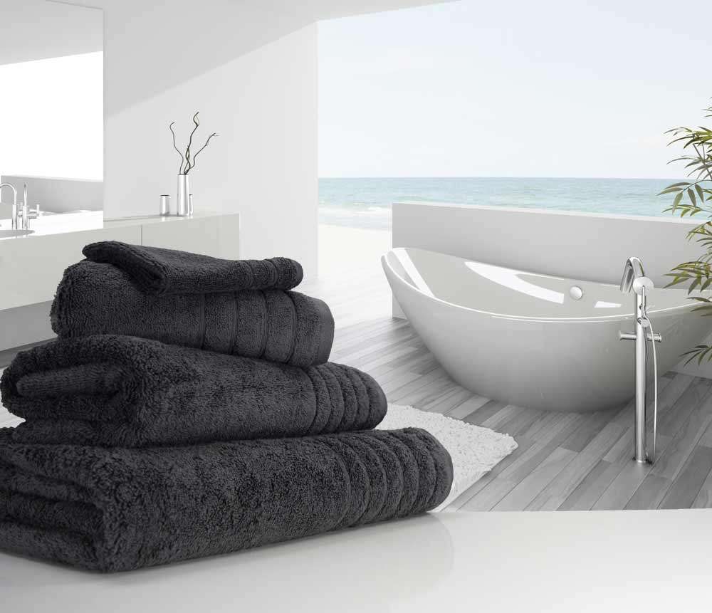 Charcoal Grey Towels