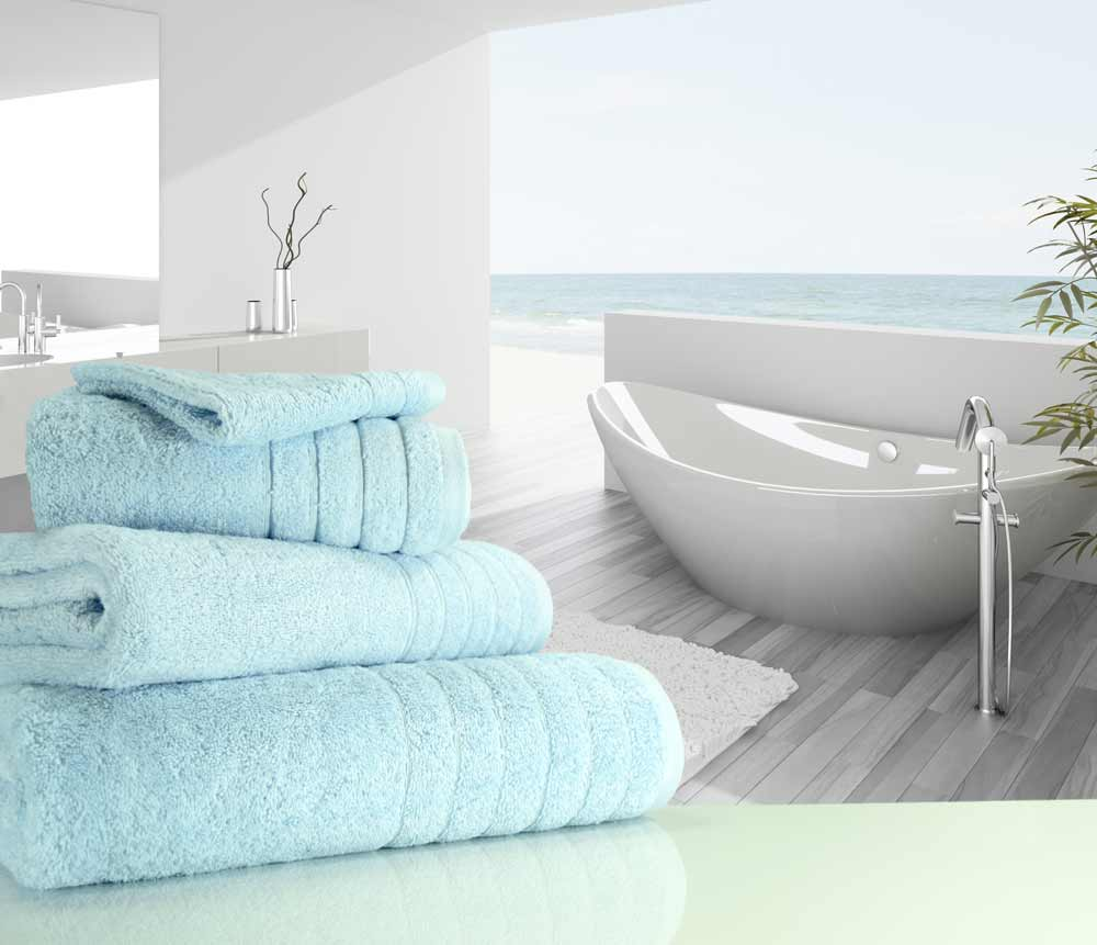 Duck Egg Blue Towels