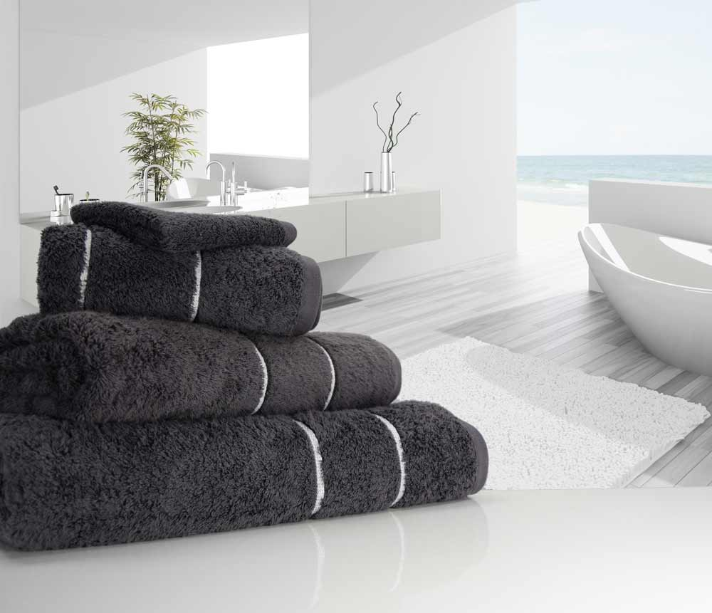 Charcoal Luxury Towels