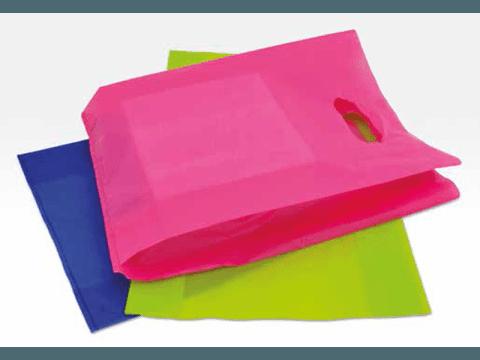 shopper colorate in plastica