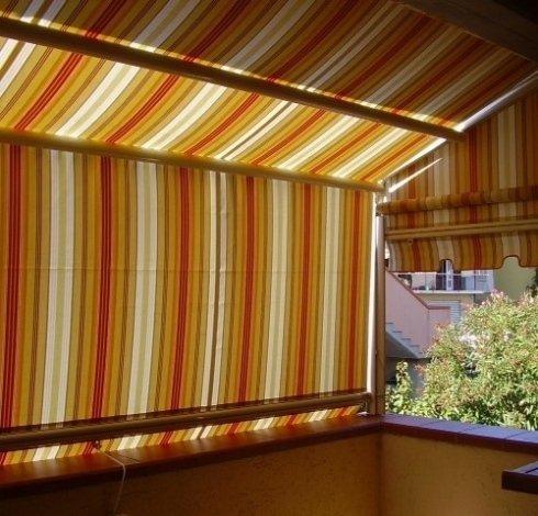 tende per copertura balconata