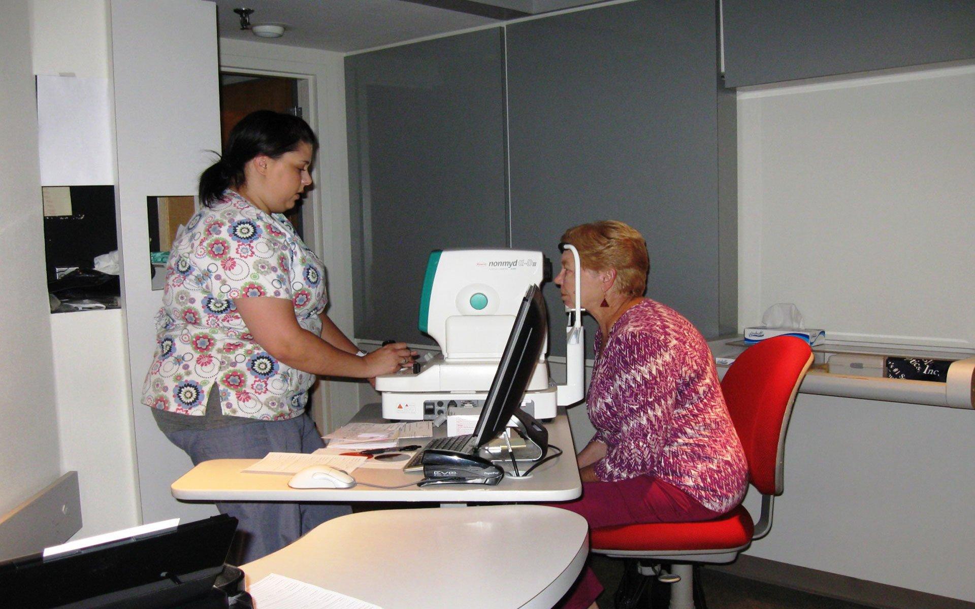 Eye care exam in Greensboro, NC
