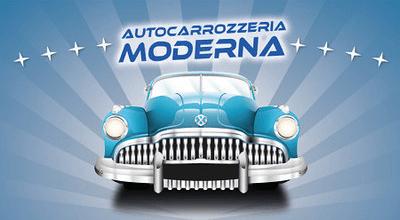 AUTOCARROZZERIA MODERNA - LOGO