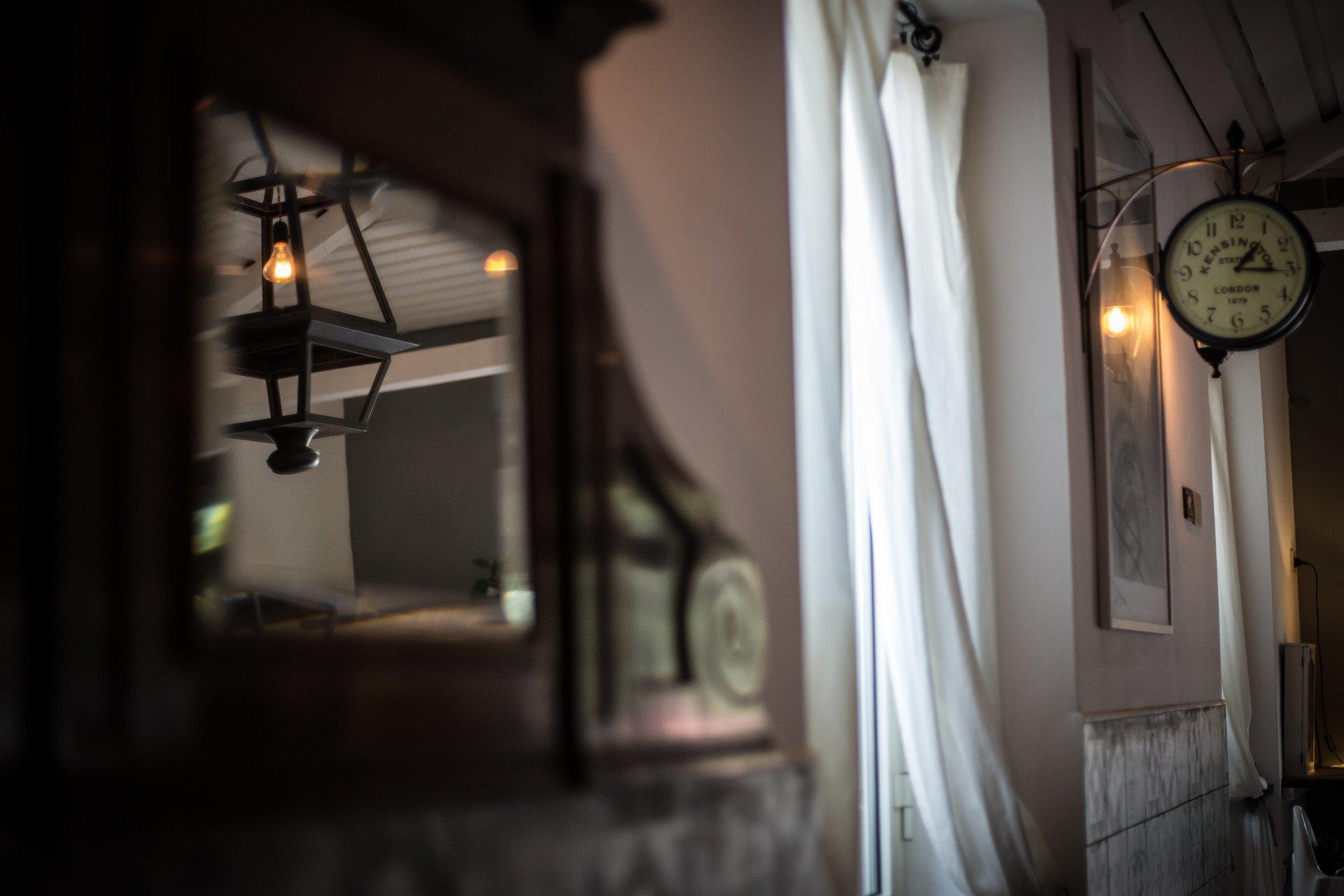tenda e specchio