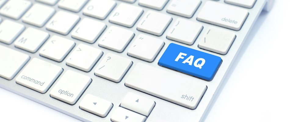 FAQ keyboard icon