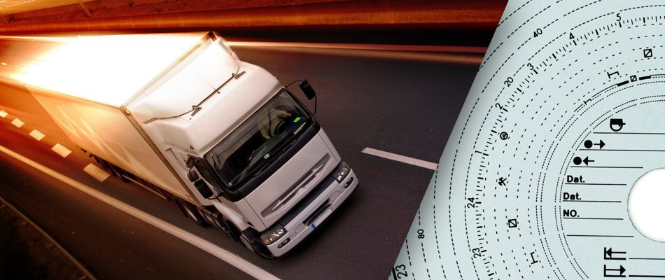 Tachograph and lorry driving