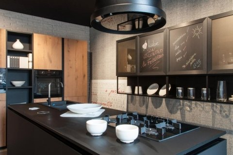 penisola di una cucina moderna