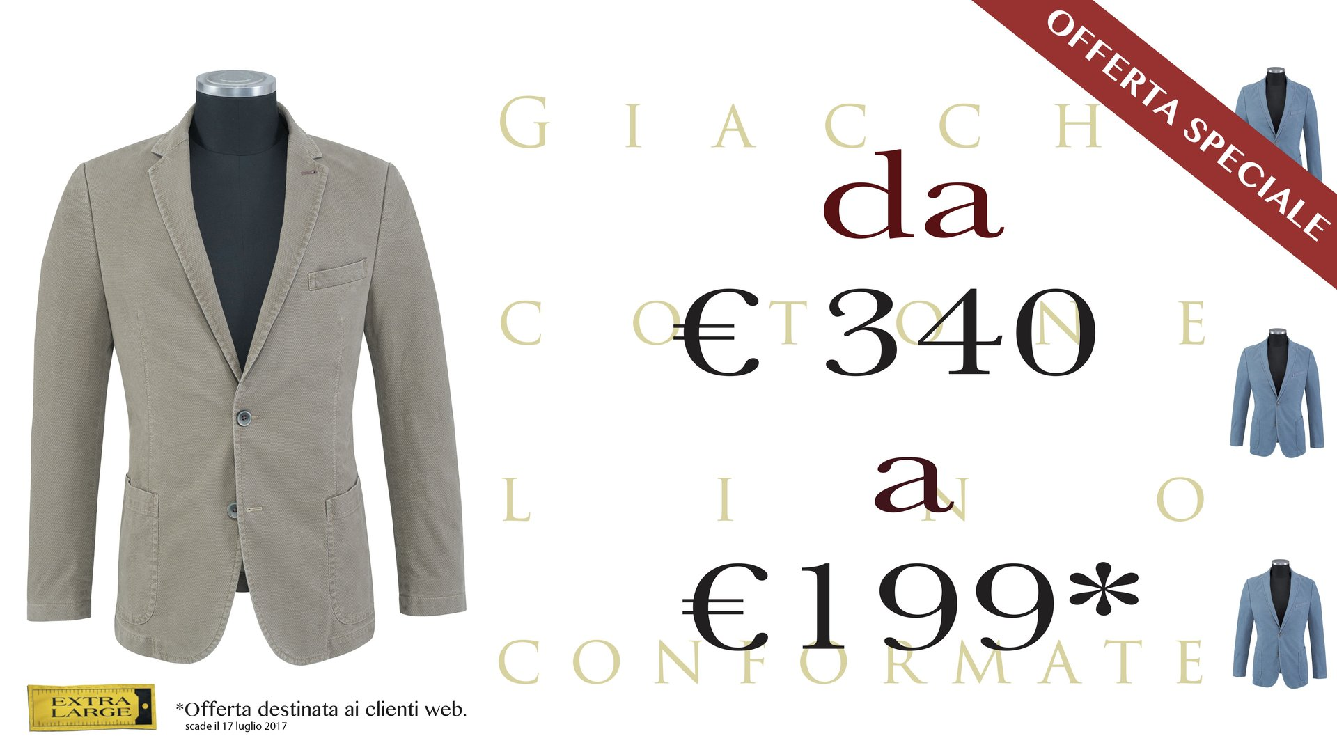 giacche in offerta speciale