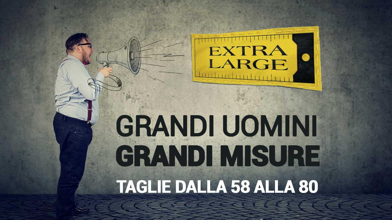 Grandi Large Da Extra Uomo Abbigliamento TaglieRomaRm b7y6gYfv