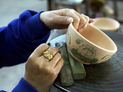 ceramica su disegno