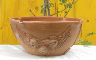 coppa frutta in ceramica