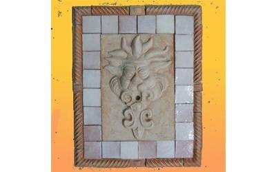 parete in ceramica