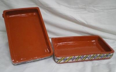 terrine in terracotta